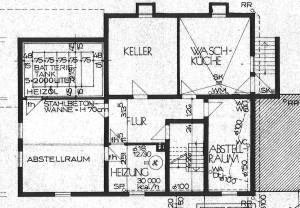 Untergeschoss-Grundriss
